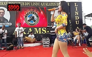 Indonesian X dance - seductive sintya riske wanton dance on high ripen