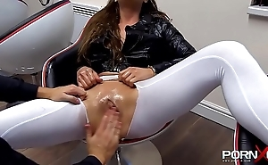 Fisting increased by squirting cathy heaven