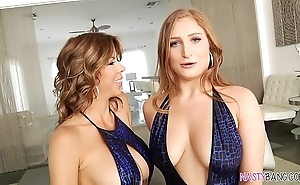 Squirting lesbian mating - alexis fawx with an increment of skylar stooge