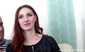 Redhead swinger cuckolds retrench