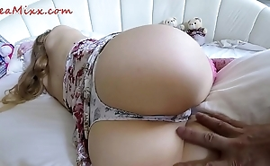Hibernating stepsister wakes satisfactorily surprise wide her asshole - grassland mixx