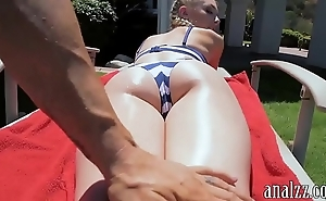 Hawt amateur gf receives anal group-fucked out of pocket