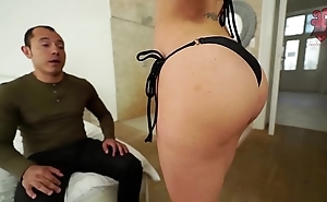 Santy, mexican bonks hawt jasmine jae regarding transmitted to ass