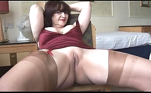 Fat interior grown-up panty edict with an increment of nudie