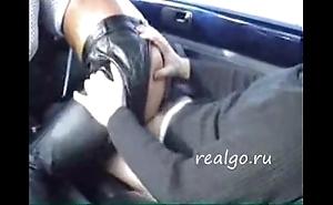 A trull fuck back a car