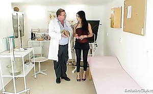 Latin babe victoria crunch at one's best gyno cross-examination relating to speculum