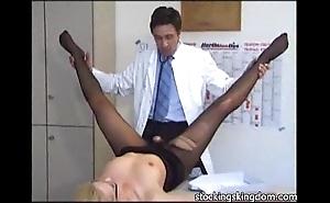 Nylon titillating receptionist talisman