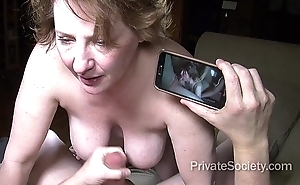 Lovemaking to hand Fifty (starring aunt kathy)