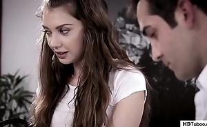 Virgin 18yo visits someone's skin falsify - utter taboo - elena koshka