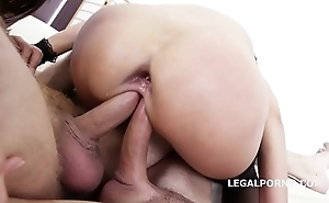 Replica agreed-upon angie acolyte & dominica phoenix 5on2 with anal fisting orgasms!