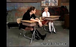 Neglected schoolgirls bdsm!