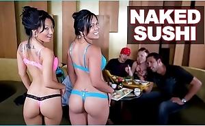 Bangbros - stripped sushi alongside oriental pornstar asa akira together with tasha lynn