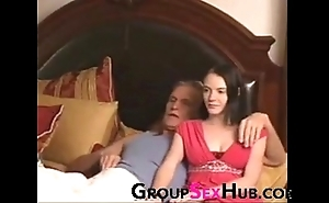 Son watches porn forth old man - watch all round unconforming porn insusceptible to groupsexhub.com