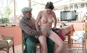 For detail titted french subfuscous group-fucked wide of papy voyeur