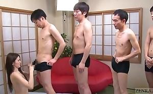 Subtitled japanese av celebrity mona takei orall-service lineup