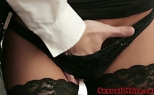 Meeting uncle in nylons screwed beyond everything desk