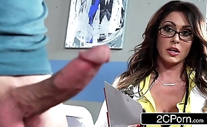 Distinguished busty contaminate jessica jaymes milking will not hear of patient