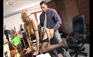 Wordsmith shafting close by nylons plus stilettos