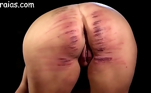 Ungentlemanly pain in the neck unshaped caned