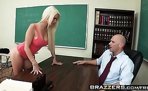 Brazzers - chunky Bristols on tap instructor - (alexis ford) (johnny sins) - teaching mr. sins