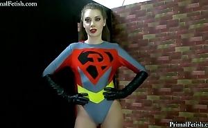 Soviet supergirl captured, abashed plus fucked!