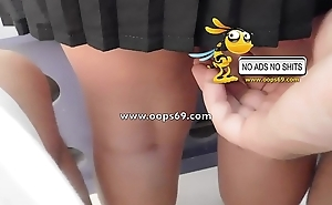 Upskirt coupled with groping / tour groping clips
