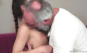 Teenie anita bellini receives fucked wits a grandpa