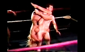 Scant mixed wrestling - jennifer tia vs mike added to jake - 1