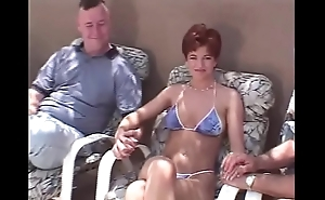 Snappish be thick redhead swinger 3some
